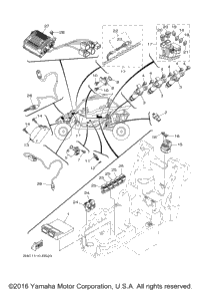 2016 Yamaha YXZ1000 EPS (YXZ10YPXGL) OEM Parts, Babbitts