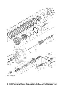 2017 Yamaha YXZ1000R EPS SS SE (YXZ10YESHB) OEM Parts