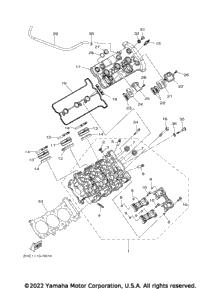 2017 Yamaha YXZ1000R EPS SS (YXZ10YEXHL) OEM Parts