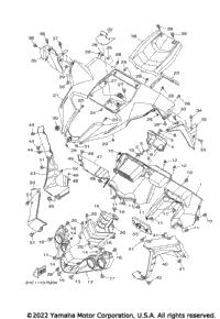 2017 Yamaha YXZ1000R EPS (YXZ10YMXHL) OEM Parts, Babbitts