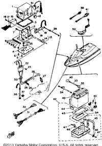 89 Polaris Snowmobile Electrical Diagram