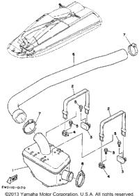 1992 Yamaha SUPER JET (SJ650Q) OEM Parts, Babbitts Online