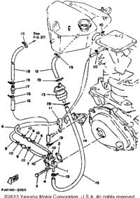 1993 Yamaha WAVE RUNNER III (WRA650RA) OEM Parts, Babbitts