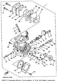 1993 Yamaha WAVE RUNNER PRO VXR (WRB700R) OEM Parts