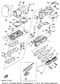 1994 Yamaha WAVE RAIDER (RA700S) OEM Parts, Babbitts Online