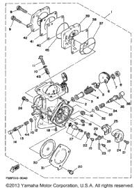 1994 Yamaha WAVE RUNNER III GP (WRA700S) OEM Parts