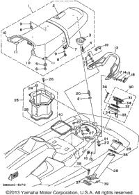 1995 Yamaha WAVE RAIDER (RA700T) OEM Parts, Babbitts Online