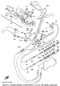 1995 Yamaha WAVE VENTURE (WVT700T) OEM Parts, Babbitts