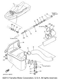 1996 Yamaha WAVE BLASTER (WB700AU) OEM Parts, Babbitts Online
