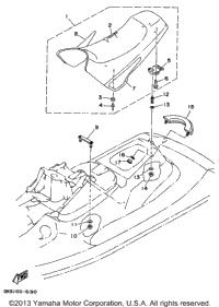 1996 Yamaha WAVE BLASTER II (WB760U) OEM Parts, Babbitts