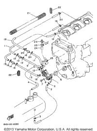 1996 Yamaha WAVE VENTURE 1100 (WVT1100U) Crankshaft Piston