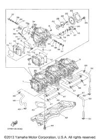 1998 Yamaha WAVE RUNNER XL1200 (XL1200W) Oil Pump