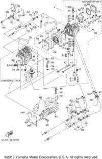 Yamaha Waverunner Carburetor Diagram, Yamaha, Free Engine