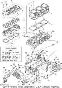 2001 Yamaha GP1200R (GP1200AZ) OEM Parts, PartsPitstop.com