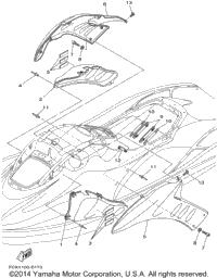 2001 Yamaha GP1200R (GP1200AZ) OEM Parts, Babbitts Yamaha