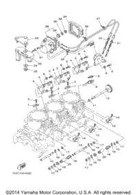 2002 Yamaha WAVE RUNNER GP1200R (GP1200ACA) Jet Unit 1