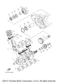 2004 Yamaha FX High Output (FX1100C) OEM Parts, Babbitts