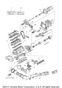 2004 Yamaha FX Cruiser High Output (FX1100AC) OEM Parts