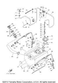 2007 Yamaha WaveRunner FX Cruiser HO (FX1100AF) OEM Parts