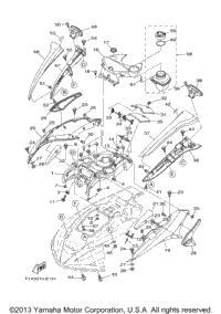 2007 Yamaha WaveRunner FX HO (FX1100F) OEM Parts