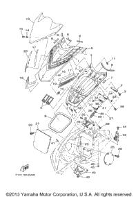 2007 Yamaha WaveRunner FX HO (FX1100F) OEM Parts, Babbitts