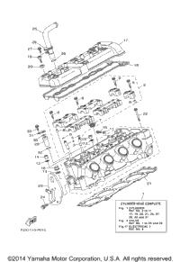2015 Yamaha VX CRUISER_VX1100BP VX DELUXE (VX1100AP) OEM