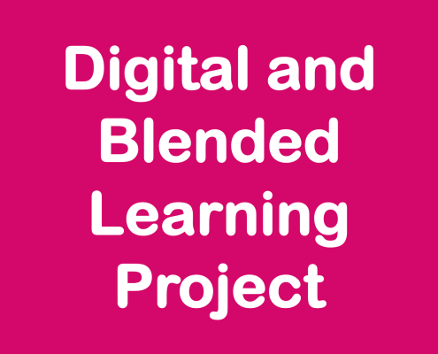 Digital Blended Learning Project (in pink!)