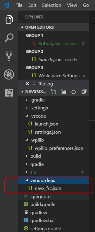 Java | navX-MXP