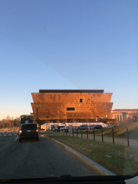 DC's newest museum! Before it was done.