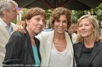 Josyane Savigneau, Christine Orban, Claire Chazal