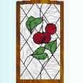 Kitchen cabinet stained glass pattern 10