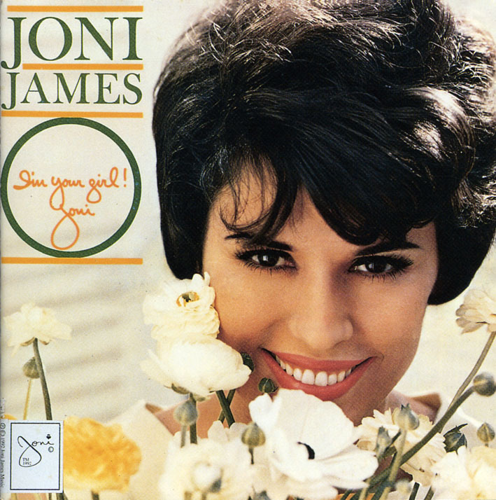 Joni James pictured on the cover of her 1962 Im Your Girl album.