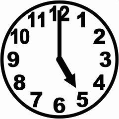 「朝5時 時計」の画像検索結果
