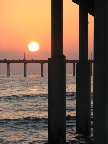 Bonus Sunset Photo  -- Ocean Beach San Diego -- Shot By PostAgilist