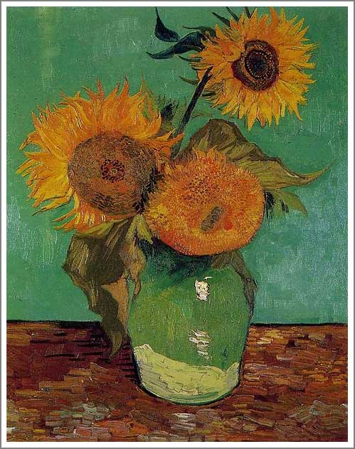 Sunflowers Van Gogh Series Pictures To Pin On Pinterest