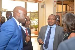 Ministre de la santé publique, felix Kabange Numbi