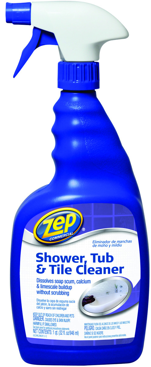 zep zustt32pf cleaner shower tub tile 32 ounce