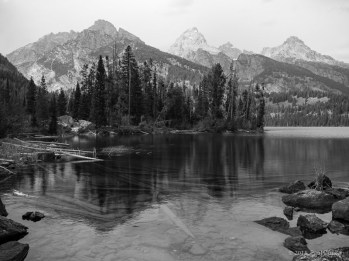 Tetons from Taggart Lake