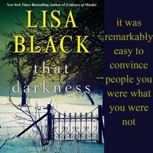 Excerpt from Lisa Black's That Darkness