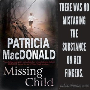 It's Mystery Thriller Week! Excerpt from Missing Child