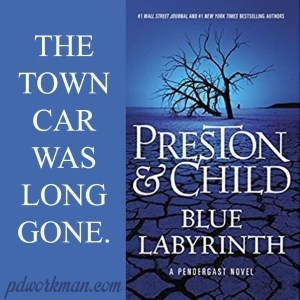 Excerpt from Blue Labyrinth