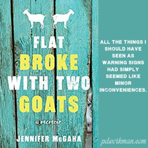 Excerpt from Flat Broke with Two Goats