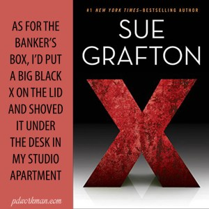 Excerpt from Sue Grafton's X