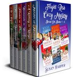 Flight Risk Cozy Mystery Boxed Set