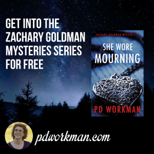 Get into the Zachary Goldman Mysteries series for free