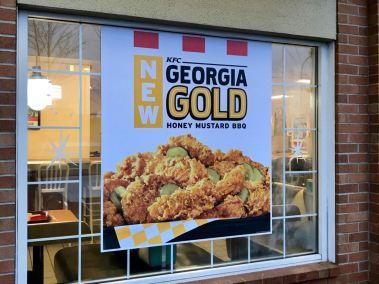 Georgia Gold Signage