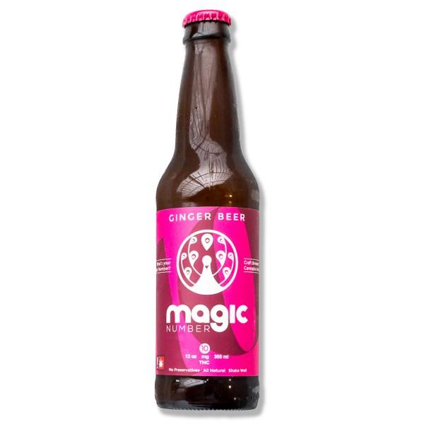 Drink Magic Number Ginger Beer 10mg