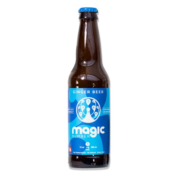 Drink Magic Number Ginger Beer 3mg | Green Box