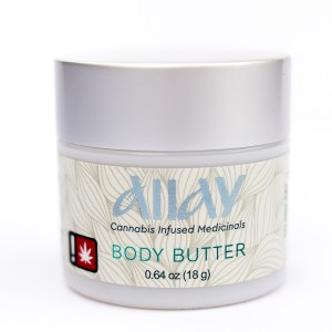 Allay Cannabis Infused Medicinals Body Butter | Green Box