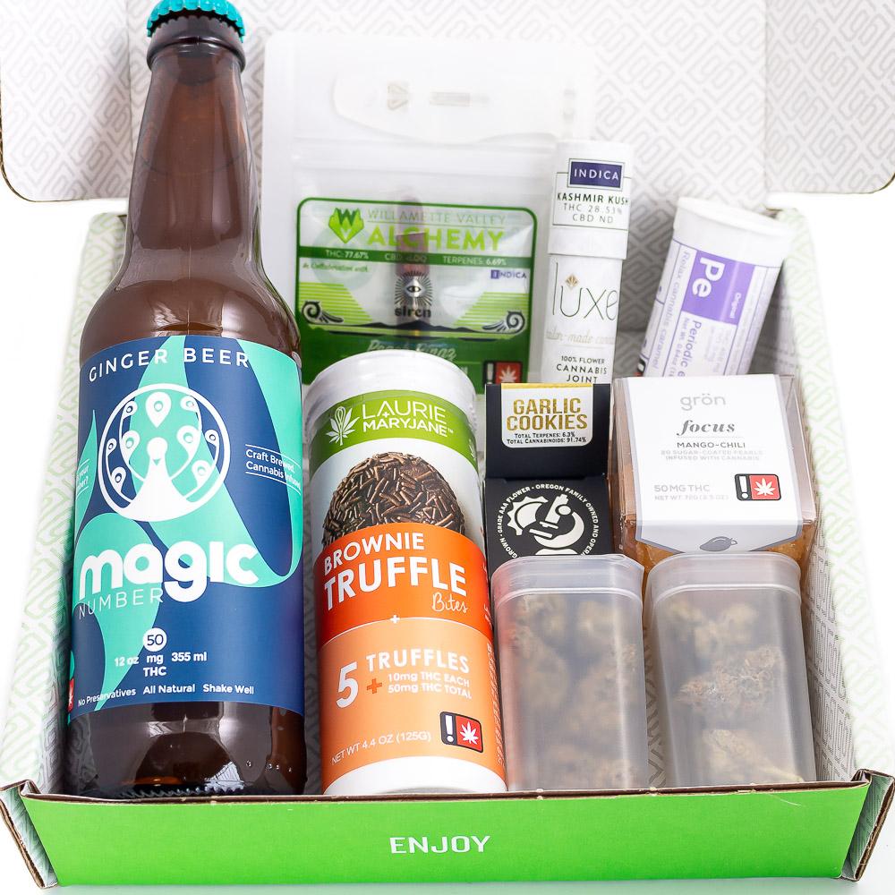 April 420 Green Box Sample